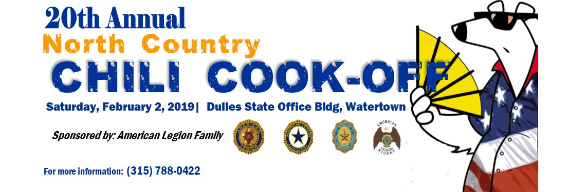 20th Annual North Country Chili Cook-Off