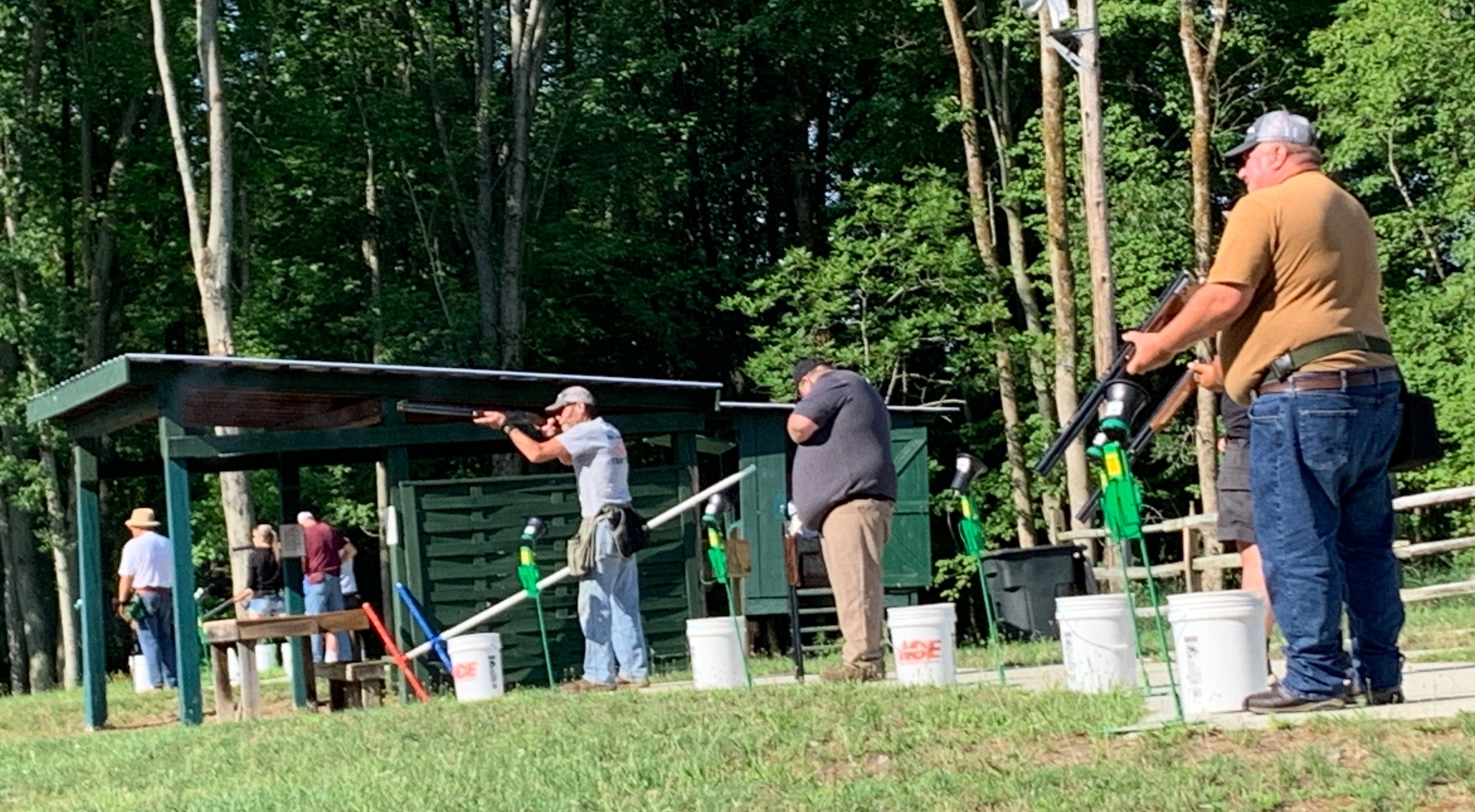 Shootin' Traps for Trips Held  at Carthage Rod and Gun Club