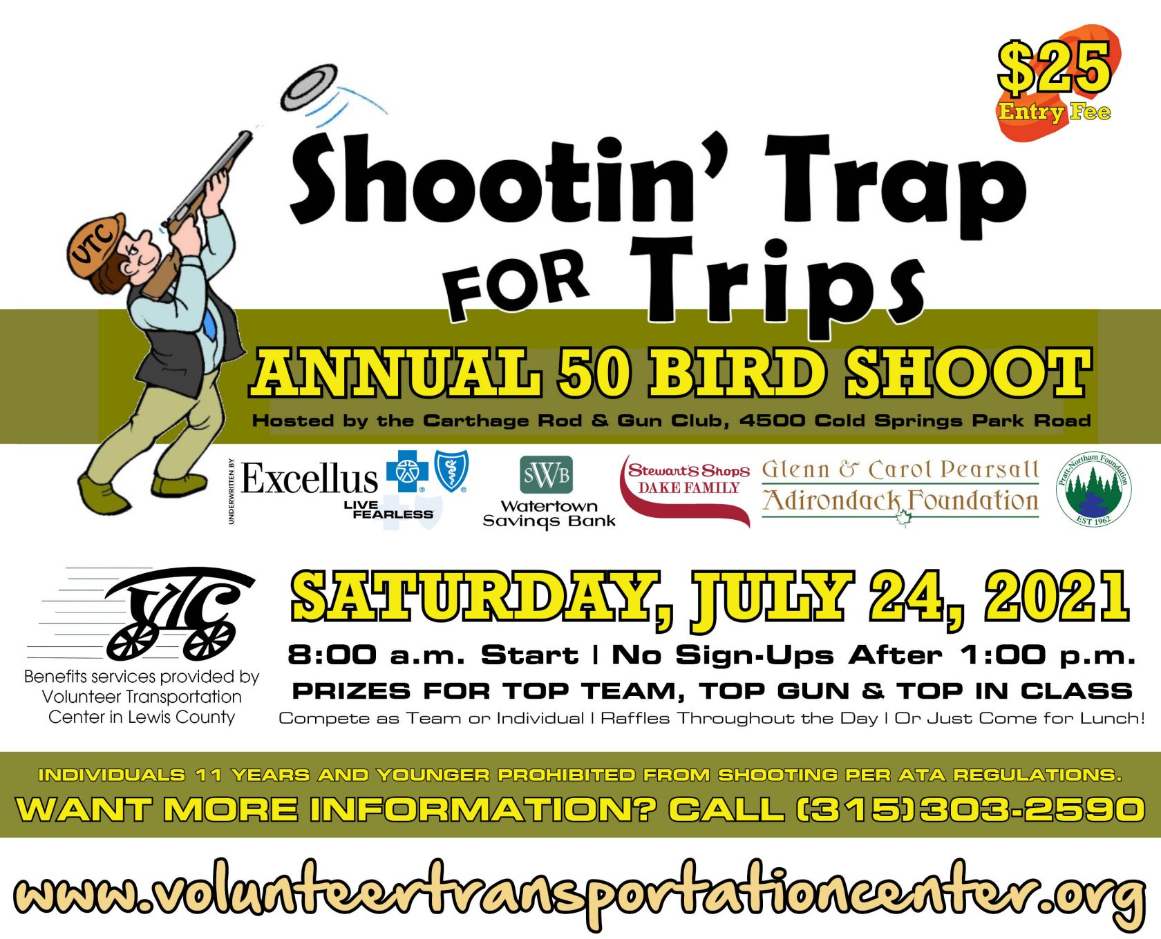 Shootin' Trap for Trips to Return for 9th Year